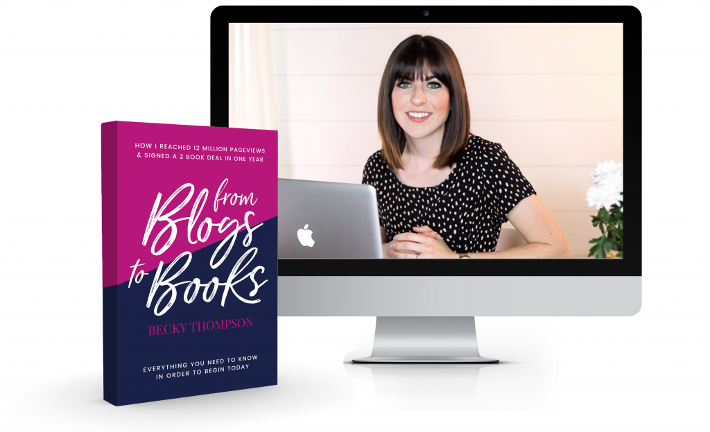 from blogs to books cover photo